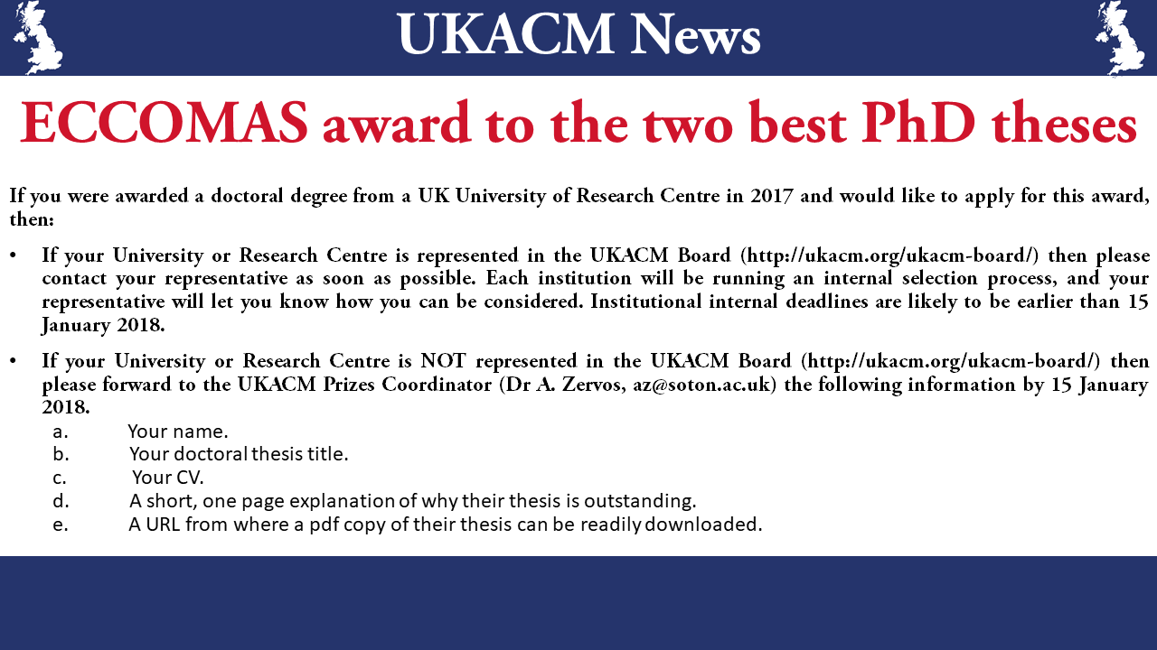 best phd thesis award uk Search for the best phd united kingdom: 2: concentration is essential when your writing your thesis -- so much so, in fact, that many phd students find.